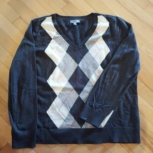 NWOT Izod Argyle Sweater